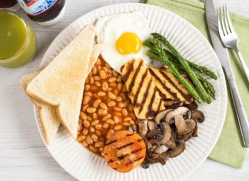 Vegetarian Breakfast £10.00