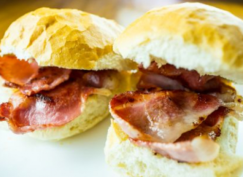 Bacon Roll £4.95