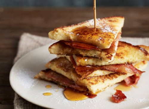 Back Bacon on Toast £4.95