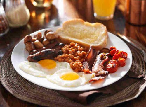 Large Scottish Breakfast £12.00